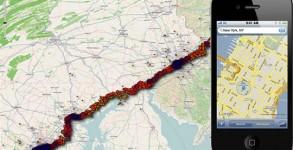 Apple seguimento iPhone y nuevo servicio de navegacion