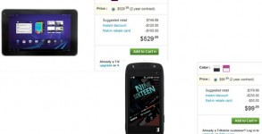 T-Mobile G-Slate y T-Mobile Sideckick 4G a la venta