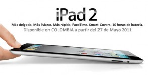 Apple iPad 2 Colombia Mayo