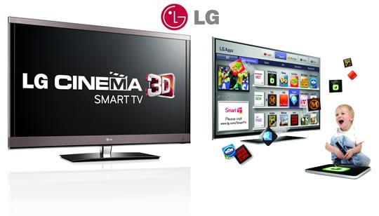 LG Cinema 3D Smart TV llega a Colombia. TV 3D con mejor calidad y
