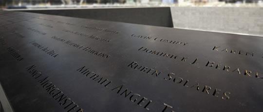 Monumento 9 11 nombres tecnologia