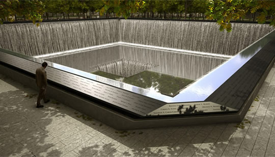 Monumento 9 11 tecnologia