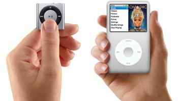 Apple iPod Shuffle e iPod Classic