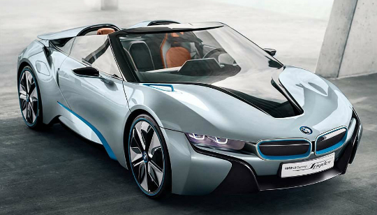 BMW i8 Spyder Concepto