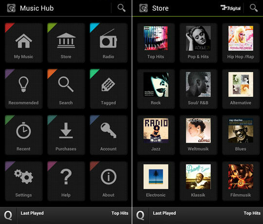 Samsung Music Hub App