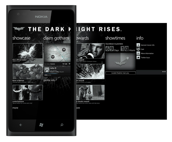 Lumia 900 The Dark Night Rises