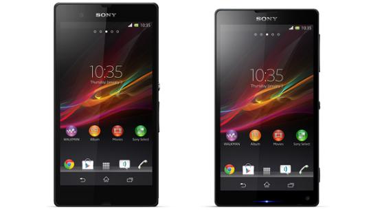 Sony Xperia Z y Xperia ZL