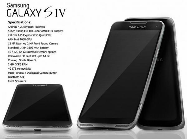 Caracteristicas Galaxy S4