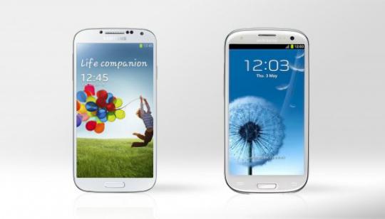 Galaxy S4 Galaxy S3 Comparación