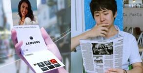 Celular Samsung Flexible