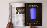Ingenioso anuncio interactivo del Motorola Moto X en una revista [Video]