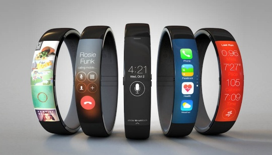 El reloj inteligente de Apple, iWatch, tendría una pantalla flexible LG