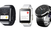 Comparación: Samsung Gear Live vs. LG G Watch vs. Moto 360. Relojes con Android Wear