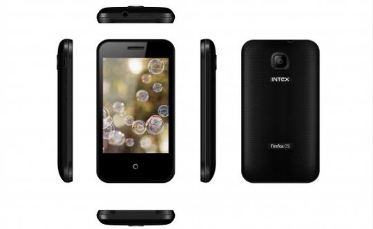 Mozilla presenta el Intex Cloud FX, un celular que cuesta solo US$33