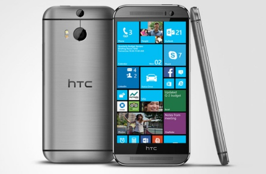 El HTC One M8 for Windows es el mismo M8, pero en vez de Android tiene Windows Phone 8.1