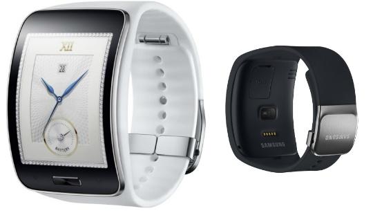 Samsung Gear S: reloj con pantalla curva, conectividad 3G y Wi-Fi