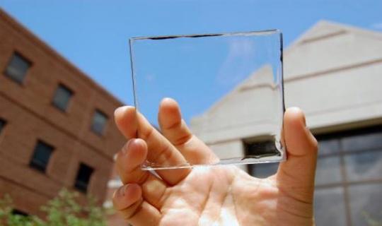Vidrios y ventanas podrán convertir los rayos solares en electricidad