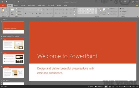 Imágenes de la próxima versión de Microsoft Office se filtran online