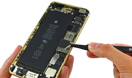 El iPhone 6 y 6 Plus tienen baterías de 1,810mAh y 2,915mAh