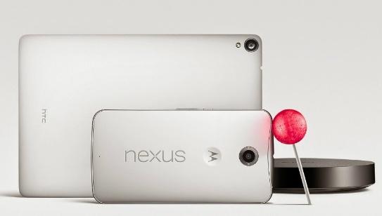 Nexus 6, Nexus 9 y Nexus Player marcan la nueva era de Android 5.0 Lollipop