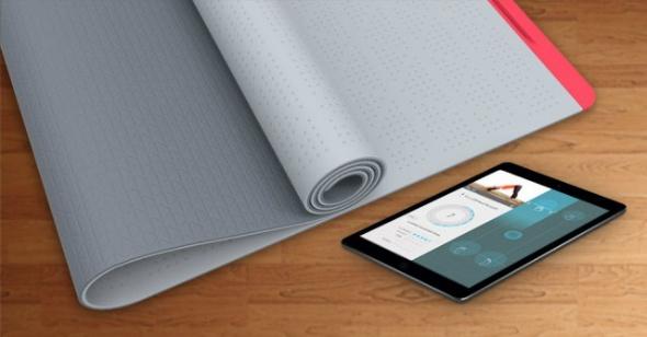SmartMat, un mat de yoga inteligente que te da consejos mientras haces yoga