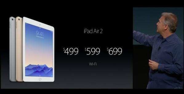 iPad Air 2: más delgado, rápido, dorado y con Touch ID