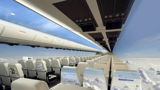 Avión sin ventanas te deja ver el mundo alrededor tuyo [Video]