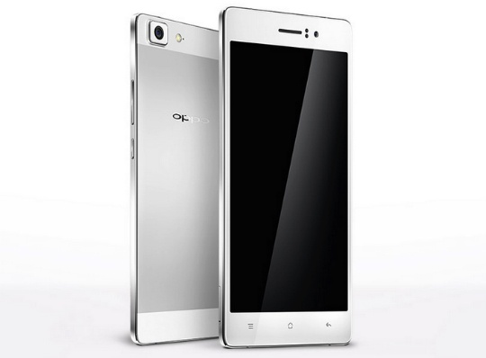 Oppo R5: El celular más delgado del mundo (4.8mm)